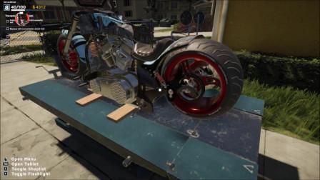 《摩托车修理工模拟器2021》流程02:悬赏接单,变速箱检修