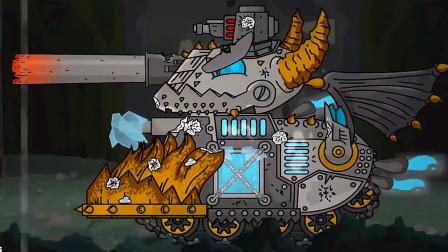 坦克大战:进化之路没想到倒在了恶魔坦克的脚下!太可惜了