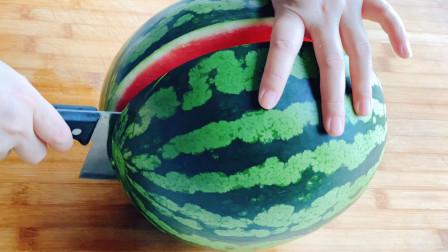 大师级的花式切西瓜,3分钟教会您,好看又简单,招待客人有面子