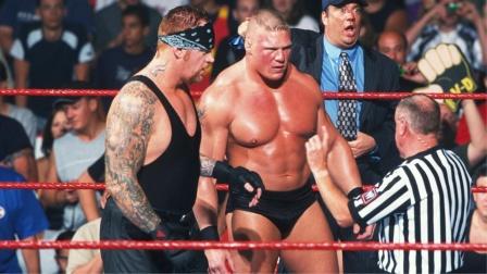 送葬者与猛兽布洛克联手,摔角界最强组合已上线!