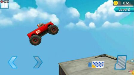 好玩的游戏:驾驶沙摊车闯关,好厉害