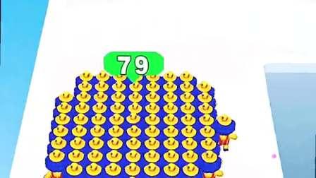 小游戏:我带上100个小弟,排着队走起来