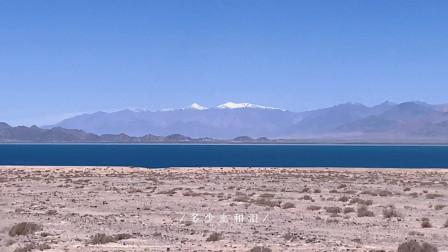 穿越300公里无人区,经过小柴旦湖,抵达水上雅丹