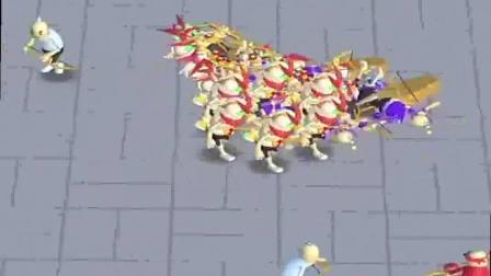 小游戏:军团真棒,打败敌人