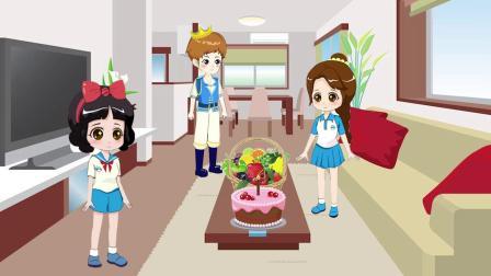少儿亲子动画:贝儿过生日收到了什么礼物?