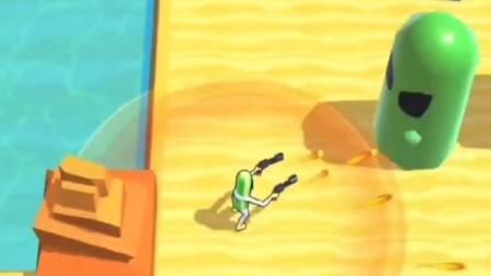 趣味小游戏:看我的突突突厉害吗?