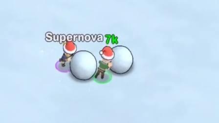 趣味小游戏:冬天下雪就要滚雪球