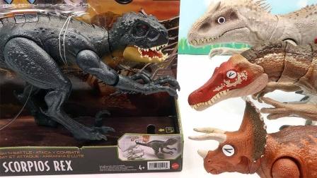新款帅气恐龙模型玩具拆盒