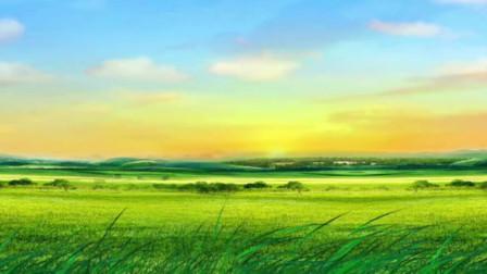 阿紫《归去的草原》——陈静宜朗诵配乐视频
