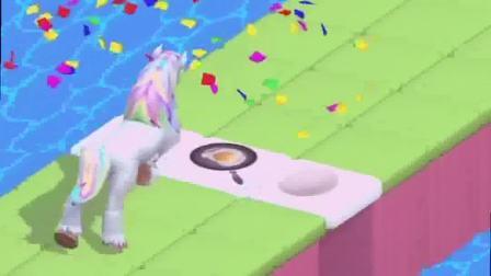 小游戏:一只小马想要过关,可是被拦住了