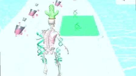 小游戏:骷颅架子赶紧跑,完善自己