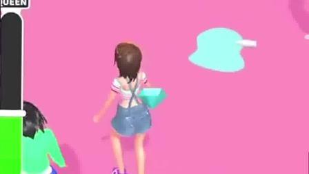 小游戏:小姐姐走起来呗,特别的开心