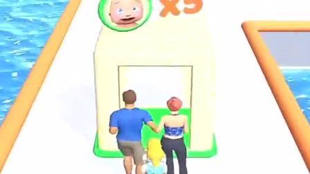 小游戏:两夫妻带着好多孩子,把他们抛弃了
