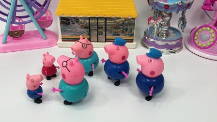 小朋友们快来看看,四个猪爸爸哪个才是真正的猪爸爸