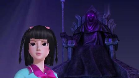 叶罗丽:王默出现神灵会场!打动神灵保护世界,她能否成功呢