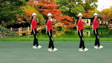 广场舞《慢慢爱》32步弹跳舞附分解,动感欢快好看好学