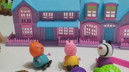 益智玩具 佩奇知道蔬菜怎么做好吃了