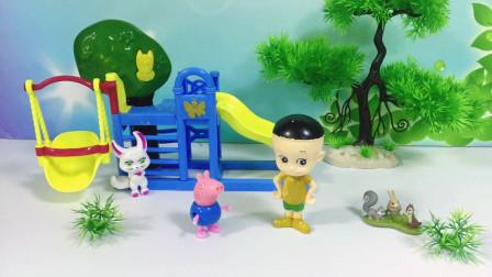 猪爸爸和小头爸爸对孩子说的话,乔治和大头比拼,大家会支持谁呢?