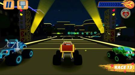 好玩的游戏:汽车动员闯关,谁厉害?