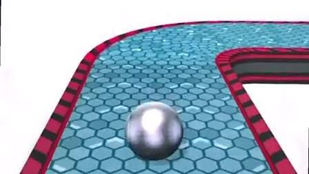 趣味小游戏:小球圆滚滚,丝毫不停留
