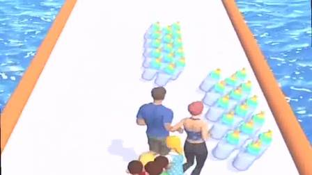 趣味小游戏:一家人一起闯关,开心极了