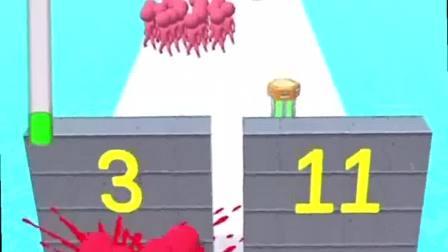 趣味小游戏:找到了伙伴,一起把墙推倒了