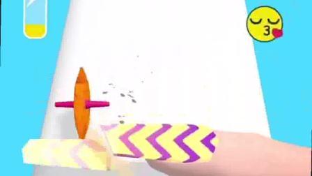 趣味小游戏:指甲长了不起吗,全都给你弄碎