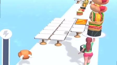 趣味小游戏:画出美丽的彩线,往前冲吧