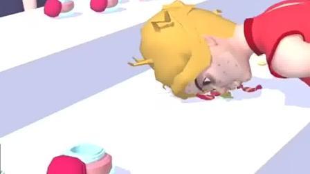 趣味小游戏:小姐姐爱化妆,把评委都迷住了
