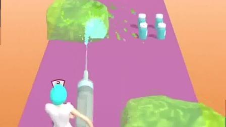 趣味小游戏:有人要打针么,护士小姐姐准备好了