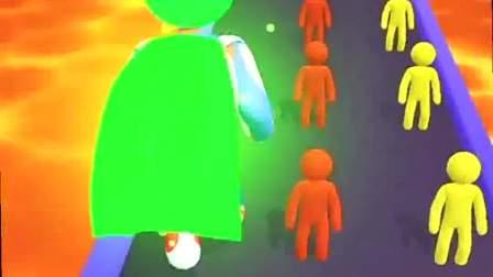 趣味小游戏:巨人的黄色披风,真是帅气