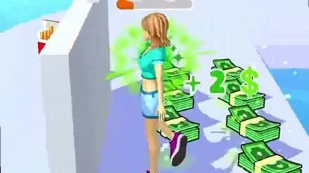 趣味小游戏:拿到了好多的钱,还是无法走出沮丧