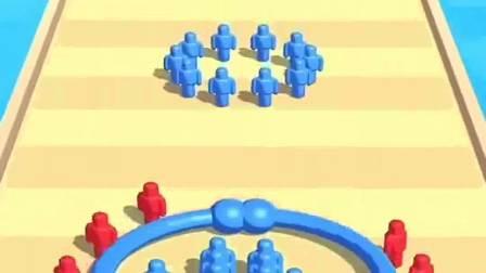 趣味小游戏:圈住我自己,别被敌人欺负