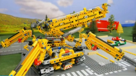 少儿玩具:组装大巴士汽车,看着好过瘾啊!