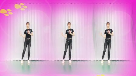 动感弹跳舞《花瓣雨纷飞》32步,青春活力有朝气,适合中青年健身