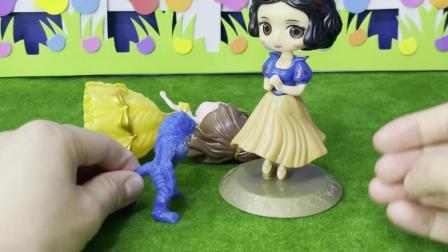益智玩具:白雪不让怪兽掳走贝尔