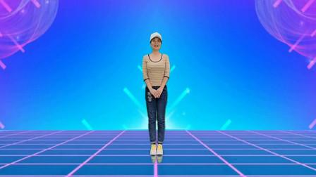 广场舞必学《草原上美丽的姑娘》8步舞,学会这两步就会跳一支舞