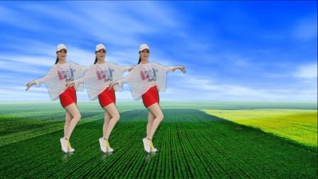 广场舞《摇太阳》32步,听着熟悉的旋律跳着欢快的舞美极了