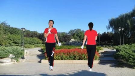 河口轻舞飞扬健身操 第二十三套 第七节 跳跃运动 正背面演示