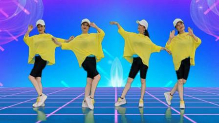 这支舞太好看了《如果爱还在》旋律动感欢快,舞步简单好看好学,附教学