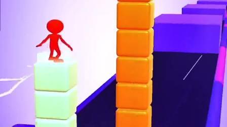 趣味小游戏:红蓝小人你能把握住哪个