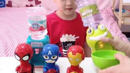 趣味童年:小英雄们想喝水了