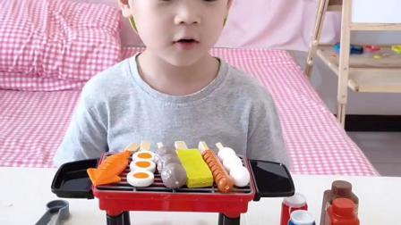 趣味童年:好吃的烤串,有人要吗