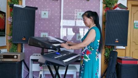《山楂树》双电子琴演奏2021.7.13.🌴🌴🌴