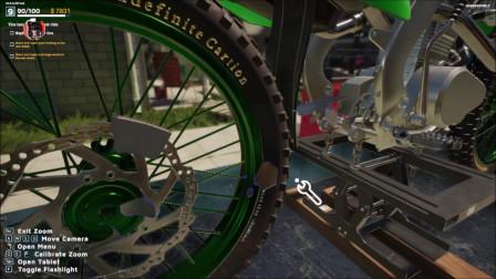 《摩托车修理工模拟器2021》流程04:马达转子的噪声问题
