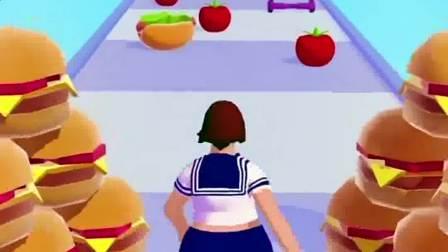 小游戏:jk小姐姐别吃太多,会变胖的