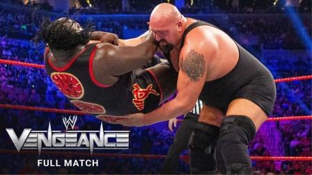 泰坦大对决,马克亨利翻摔大秀哥,将擂台摔塌!