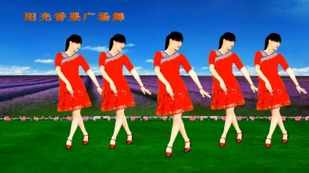 老歌广场舞《溜溜的姑娘像朵花》32步简单欢快,大人小孩都喜欢