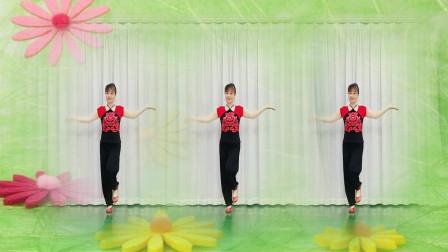 陕北民歌《一起走》火遍网络,歌声深情,舞步简单欢快俏皮好看