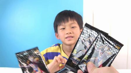 花300收粉丝一本卡册,就为几张SSR!拆荣耀炫彩和假面卡片